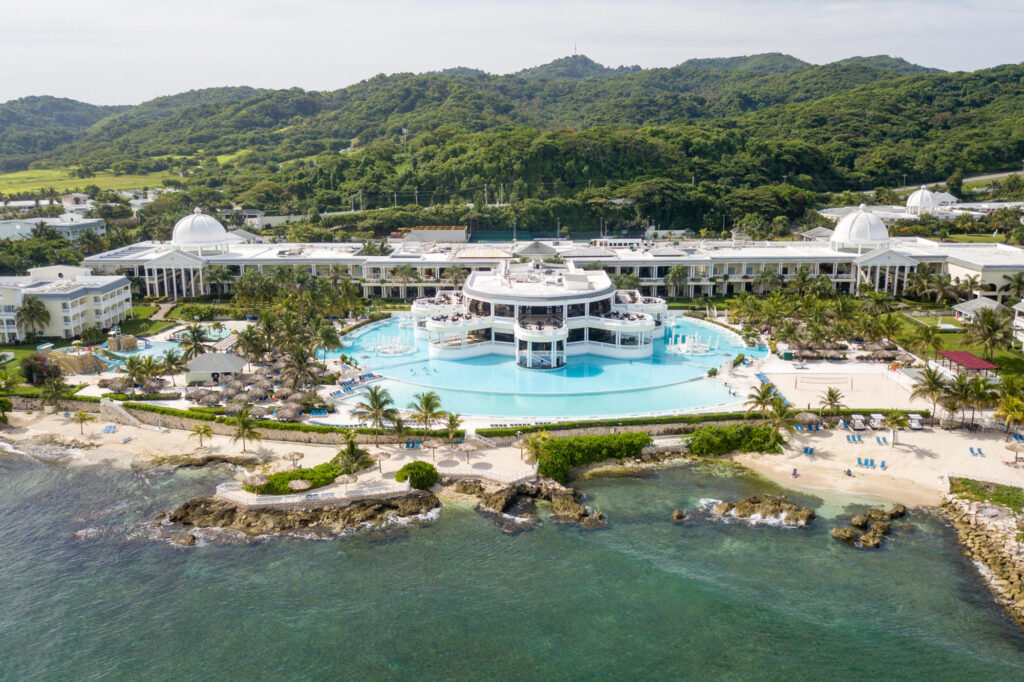 The Aerial Photography at the Grand Palladium Jamaica Resort & Spa