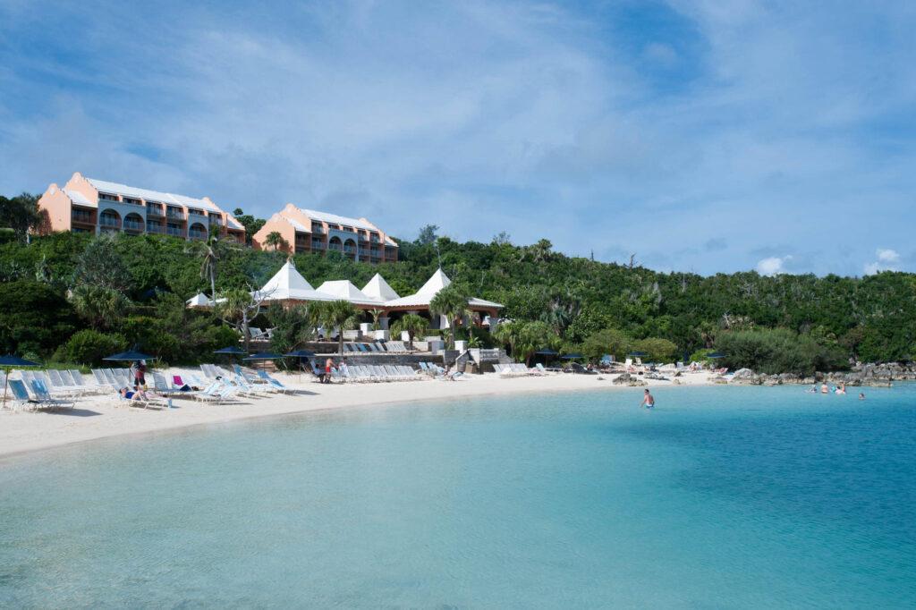 Beach at the Grotto Bay Beach Resort & Spa