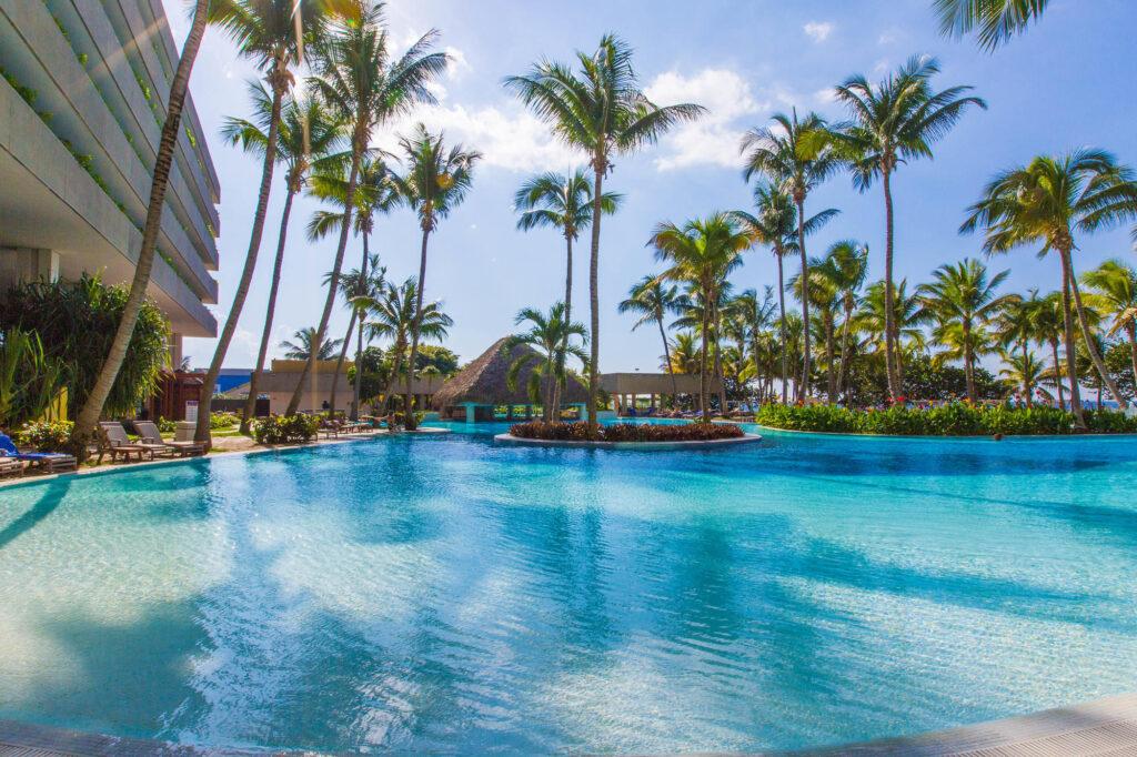 The Pool at the Melia Habana