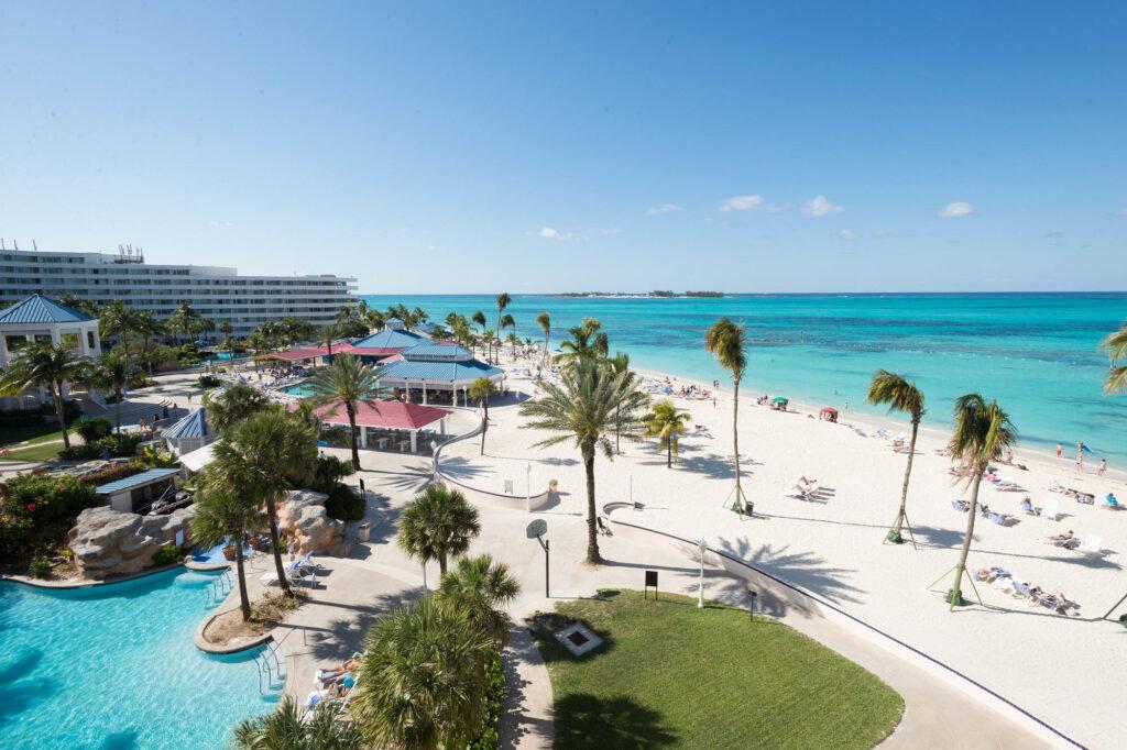The Premium Oceanview Room at the Melia Nassau Beach Resort