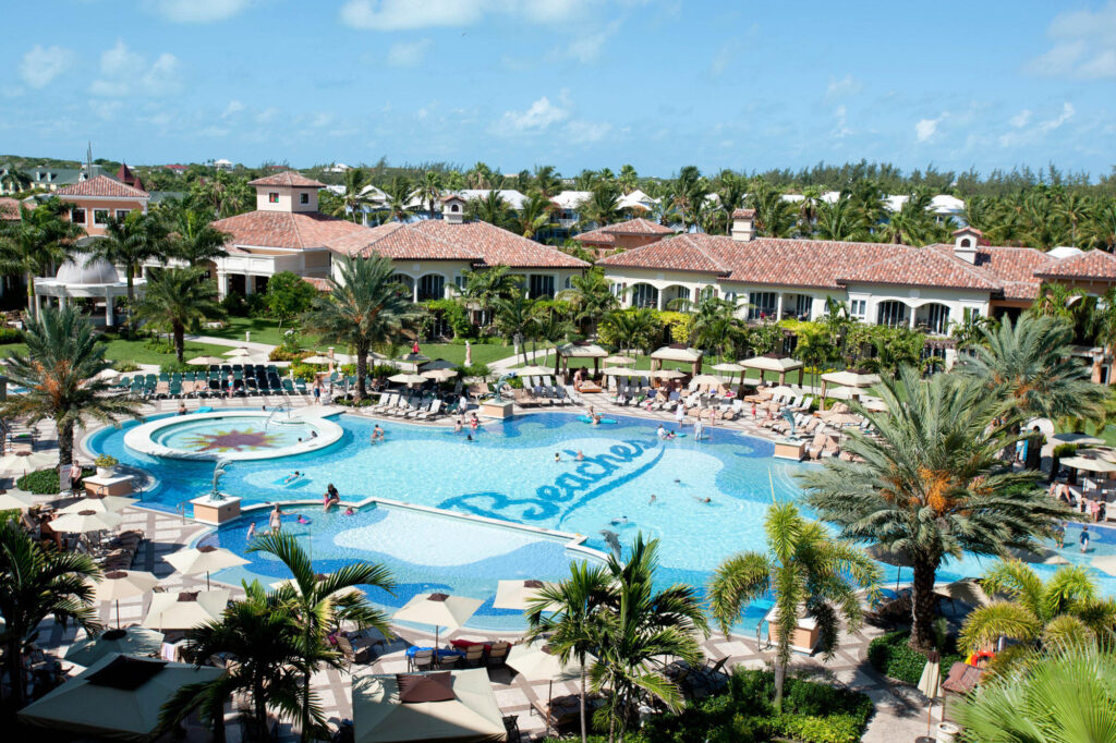 Pool at the Beaches Turks and Caicos Resort Villages and Spa