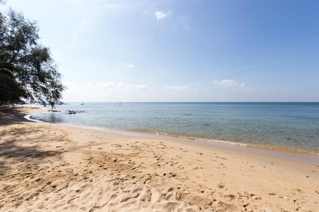 Beach at the Sea Sense Resort