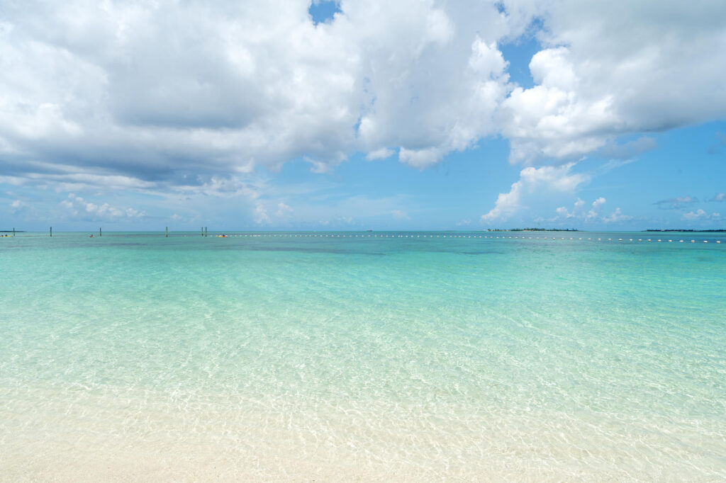 Beach at the SLS Baha Mar