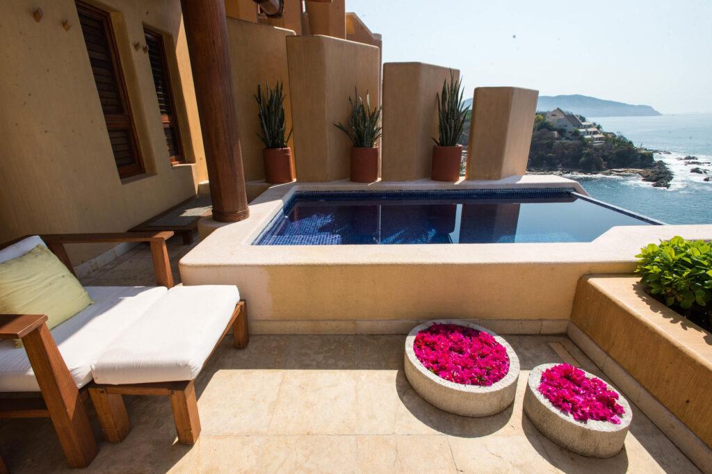 The Capella Deluxe at the Cala de Mar Resort & Spa Ixtapa