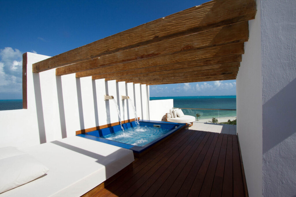 Excellence Club Two-Story Rooftop Terrace Suite Oceanfront