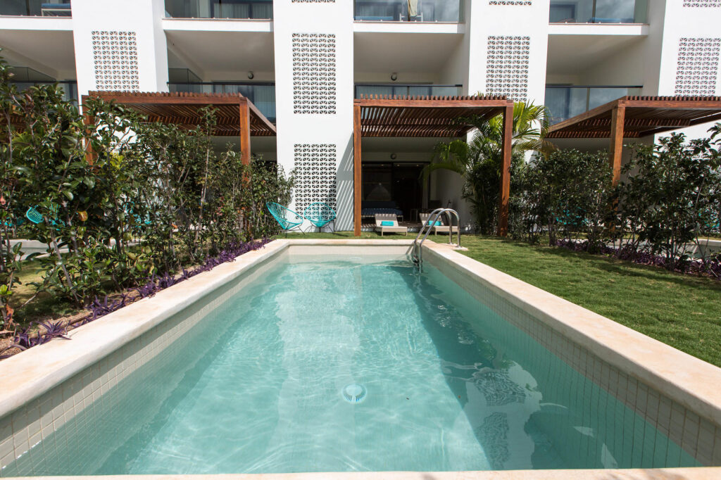 The Junior Suite With Private Pool at the Finest Playa Mujeres