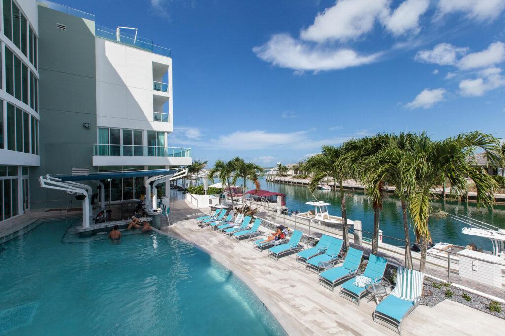 The Lazy River Pool at the Hilton At Resorts World Bimini