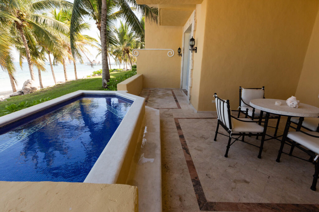 The Ocean Front Master Suite Two Bedroom with Plunge Pool at the Zoetry Paraiso de la Bonita