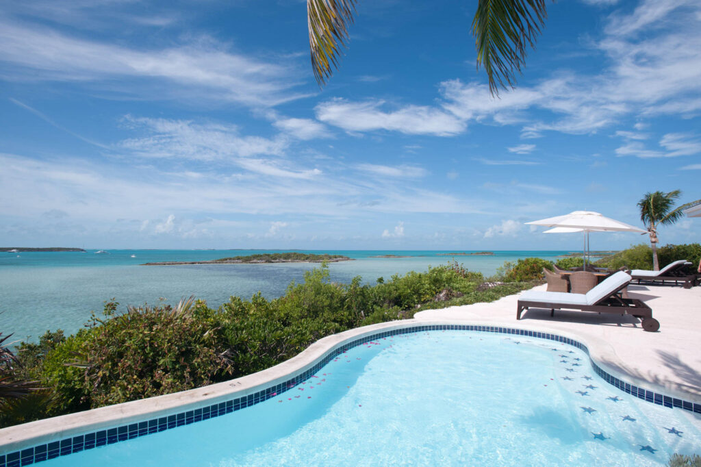 Pool at the Fowl Cay Resort