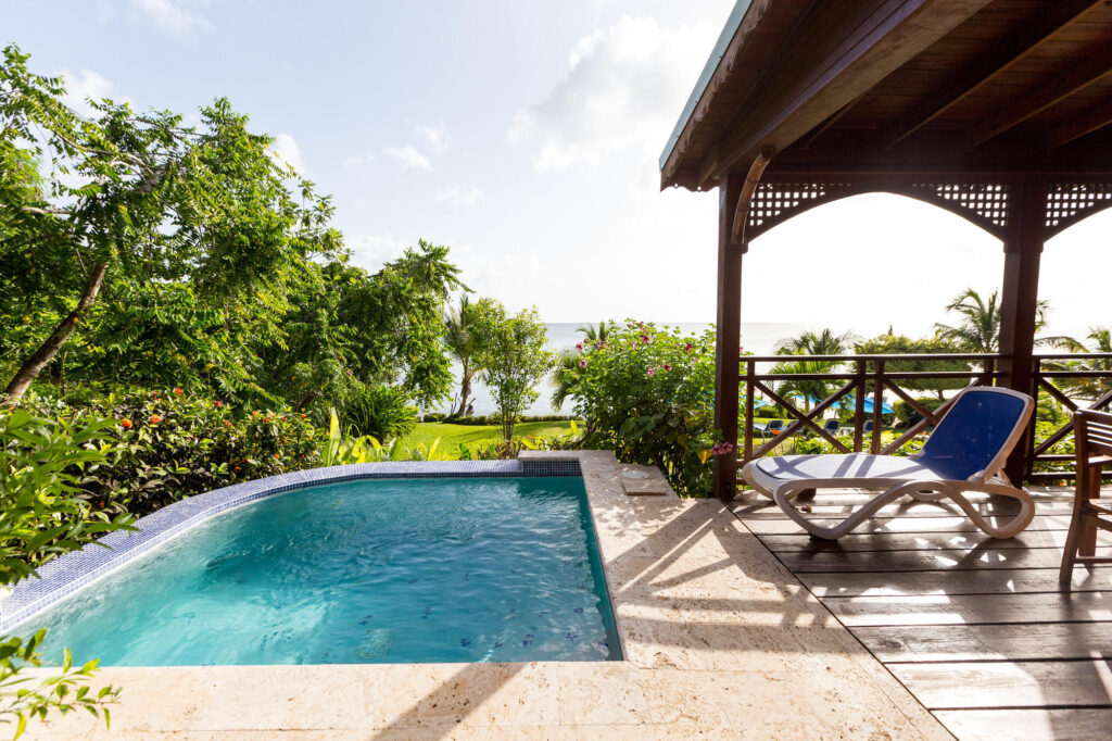 The Water's Edge Cottage at the Calabash Cove Resort and Spa