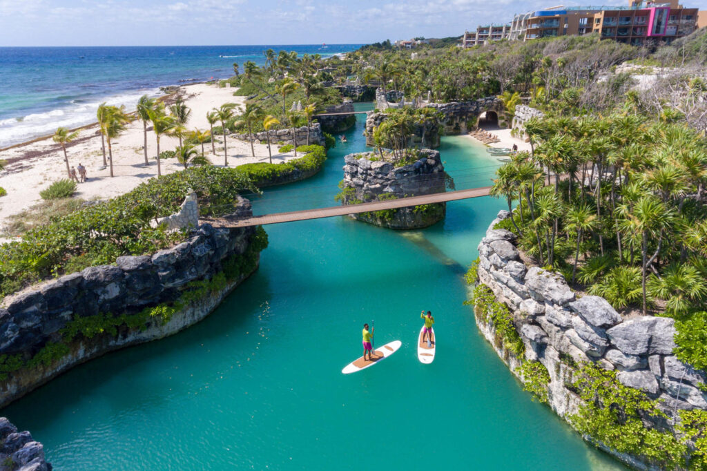Aerial Photography at Hotel Xcaret Mexico
