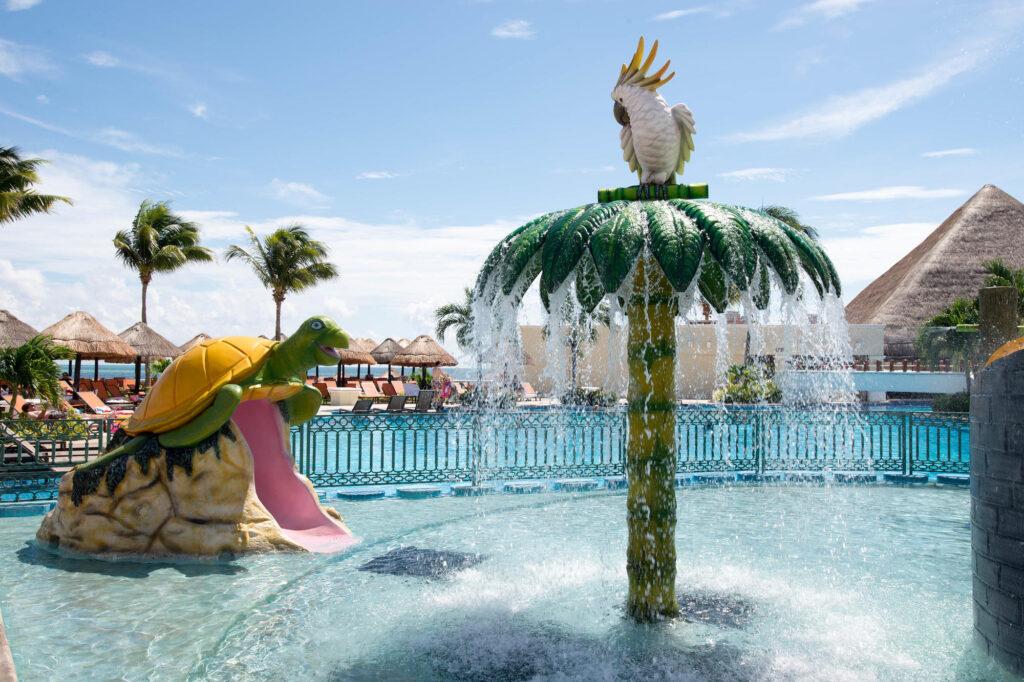 The Kids' Pool at the Moon Palace Golf & Spa Resort
