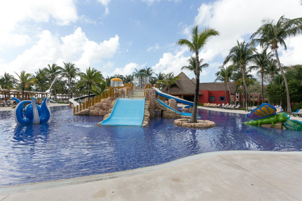 The Pool at the Barcelo Maya Colonial