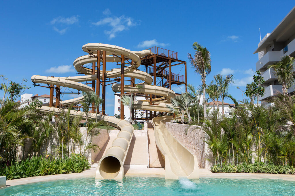 Waterpark at the Dreams Playa Mujeres Golf & Spa Resort