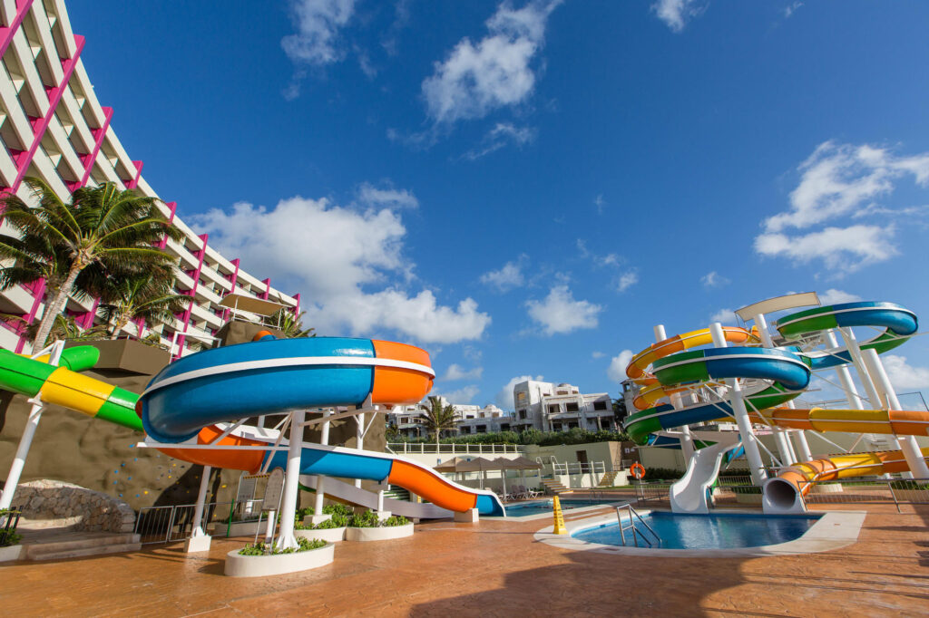 Water Park at the Crown Paradise Club Cancun