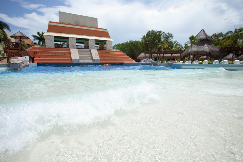 The Wave Pool at the Iberostar Paraiso Lindo