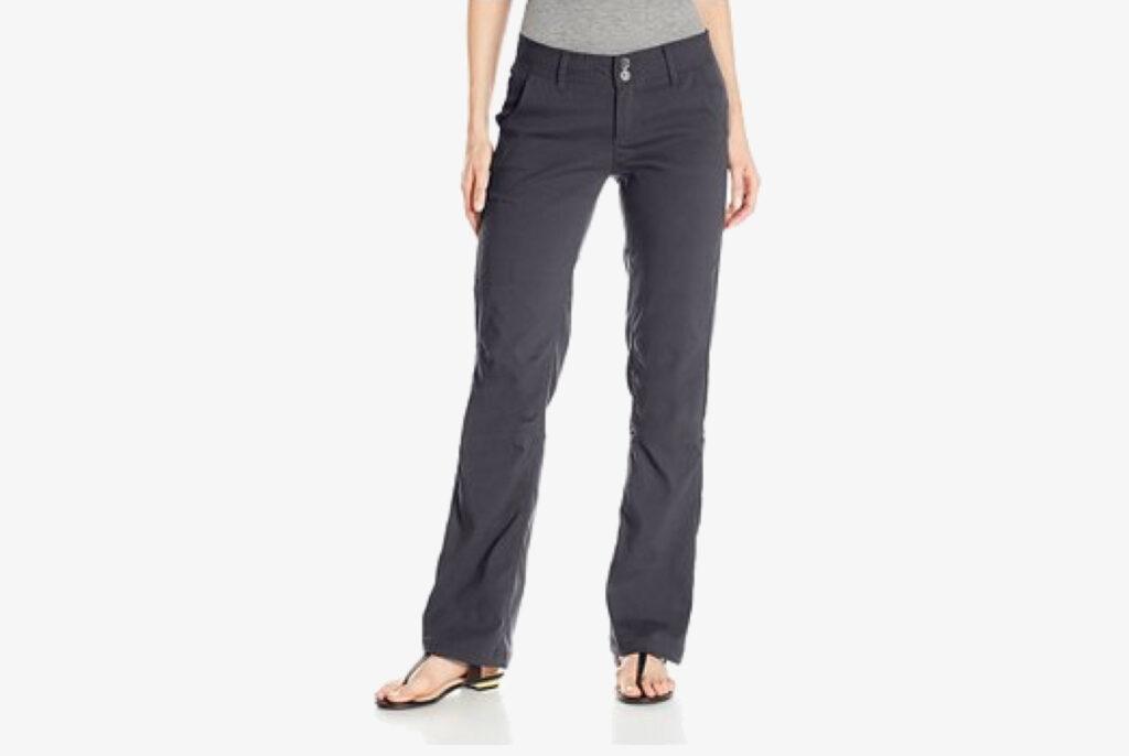 prana water repellant long pants