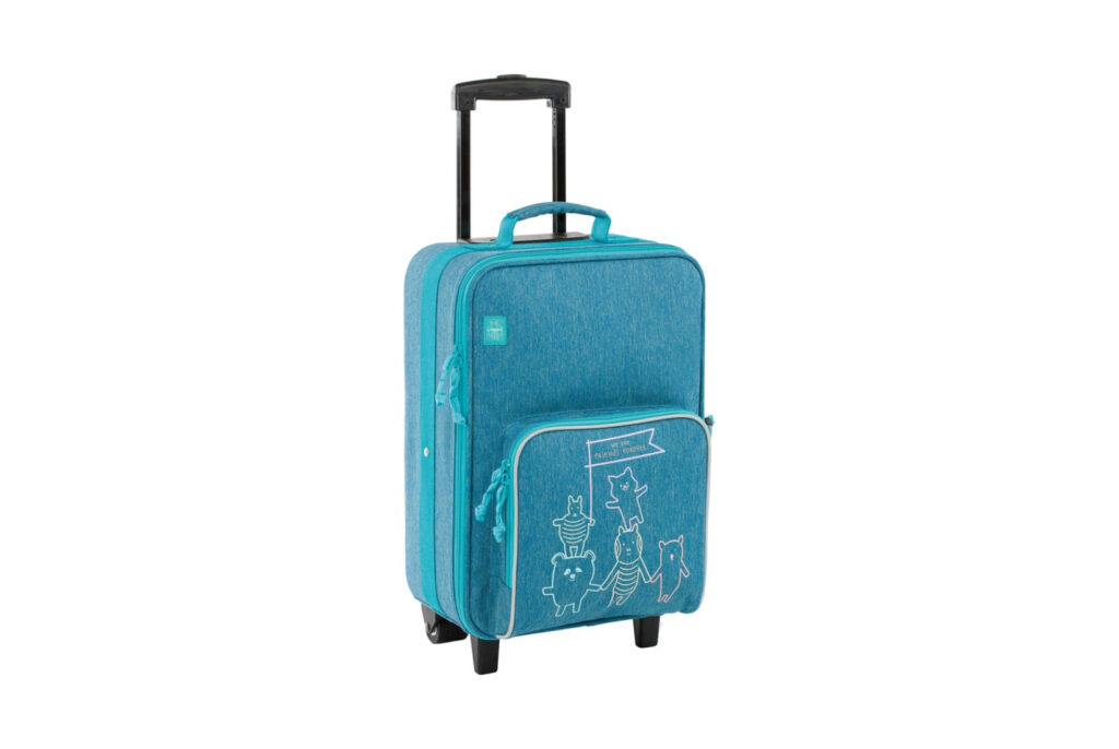 Lassig About Friends 18-Inch Rolling Suitcase