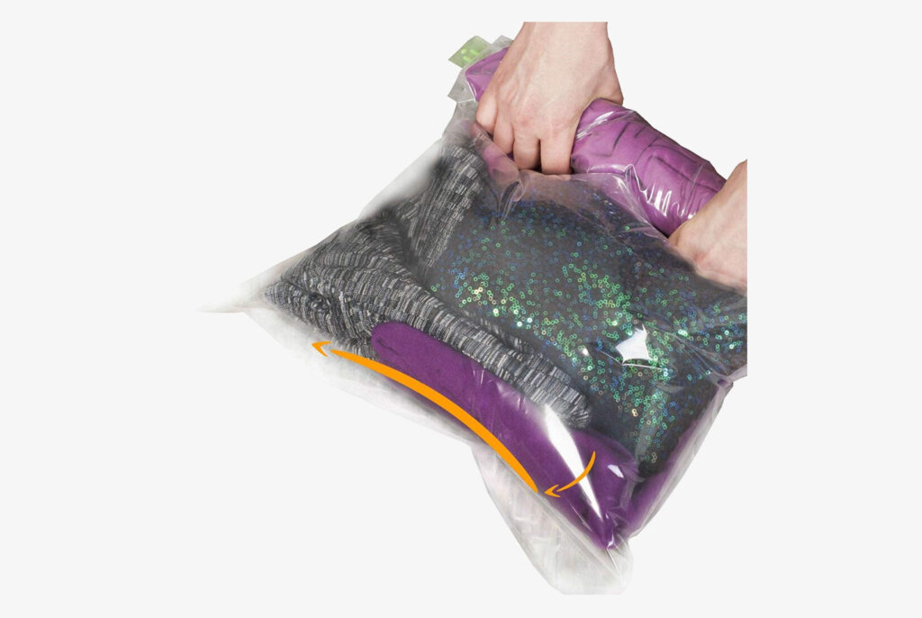 Compression bags for travel