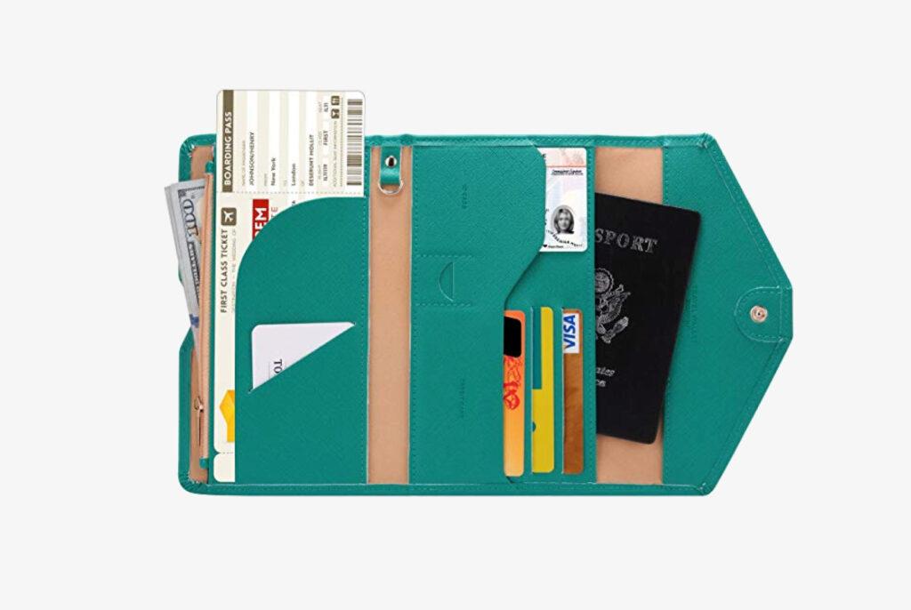 multipurpose passport wallet