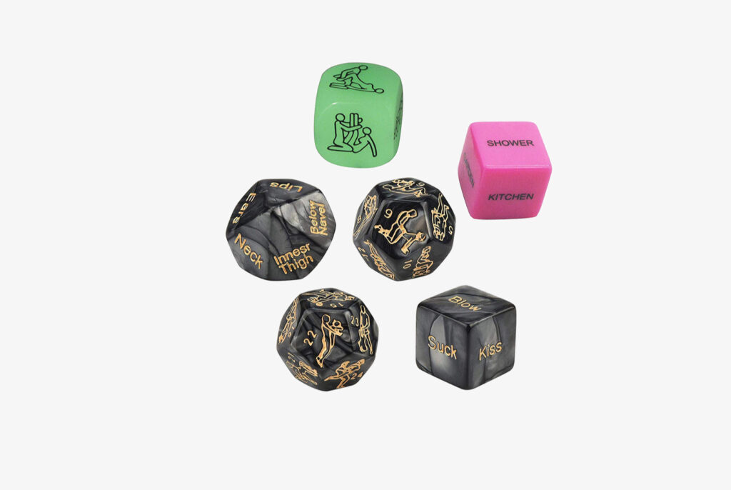 Funty Romantic Role Playing Dice