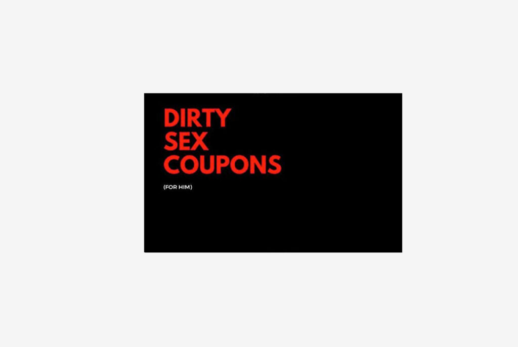 LovePlay Press Sex Coupons