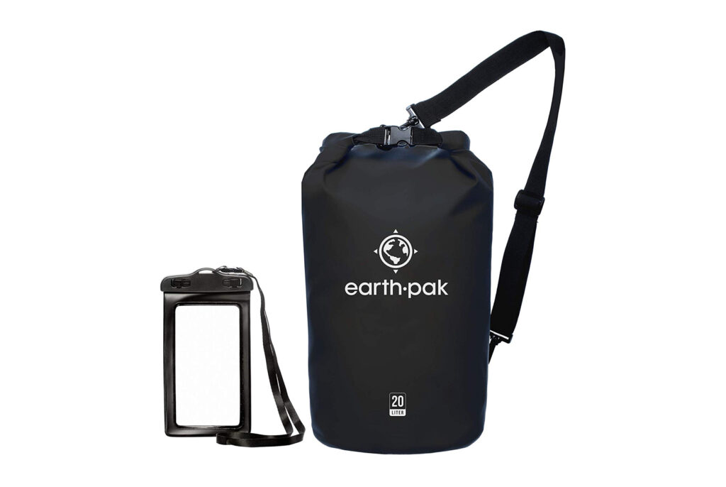 Earth Pak Waterproof Dry Bag and Phone Case