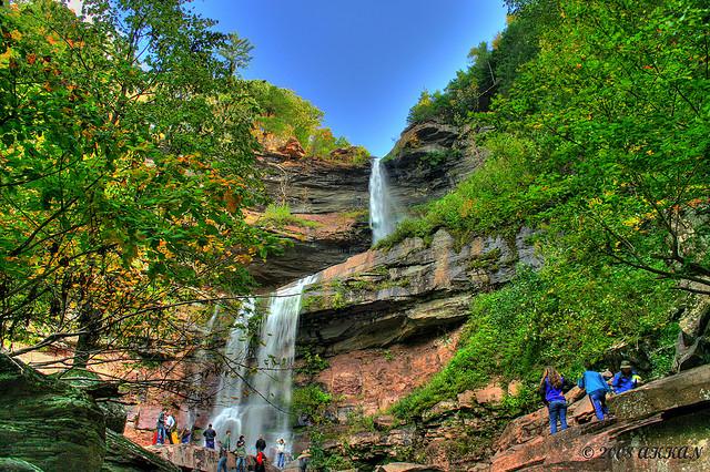 Catskill Falls; Crédito de la foto: Flickr.com/chethanjs