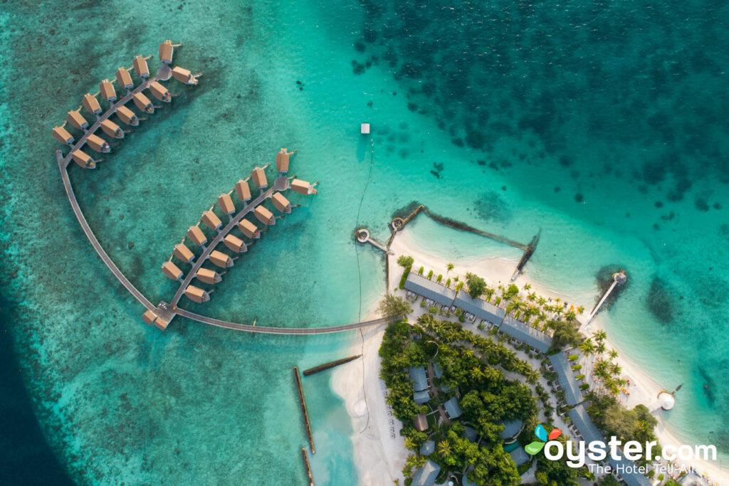 Centara Ras Fushi Resort & Spa Maldives Detailed Review, Photos