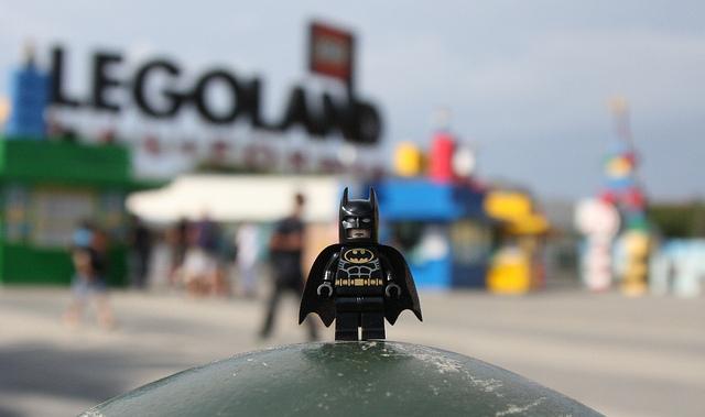Even Batman knows LEGOLAND is built for fun! Photo by Michael Li, Flickr Creative Commons