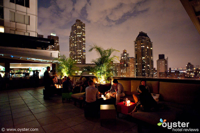 When the weather gets warm, happy hour at The Empire Hotel Rooftop Bar & Lounge will heat up, too.