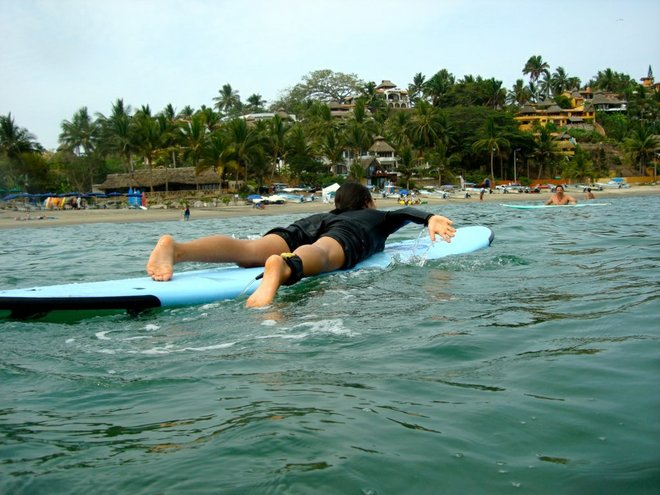 Surfing Sayulita Photo Credit: Eiko Komiya