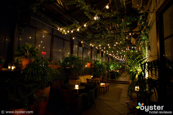 The Private Roof Club and Garden is one of our favorite spots in the city for warm-weather drinking.