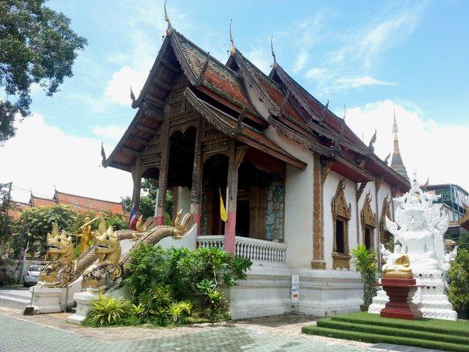 Einer von Chiang Mais vielen Tempeln