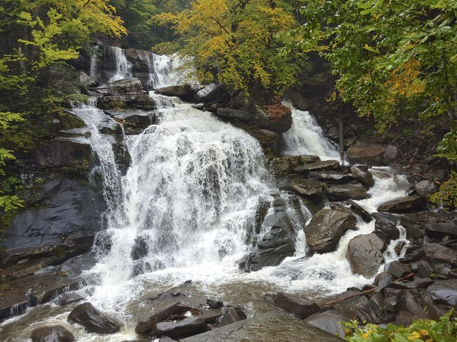 Kaaterskill Falls near Hunter, NY (Photo by Katherine Alex Beaven)