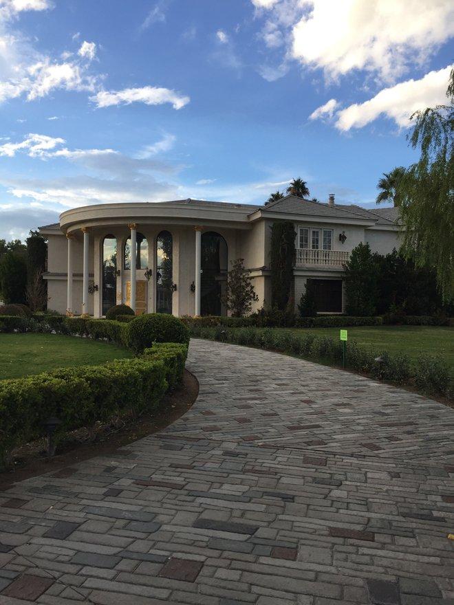 La casa de Wayne Newton; foto cortesía de Alex Creange