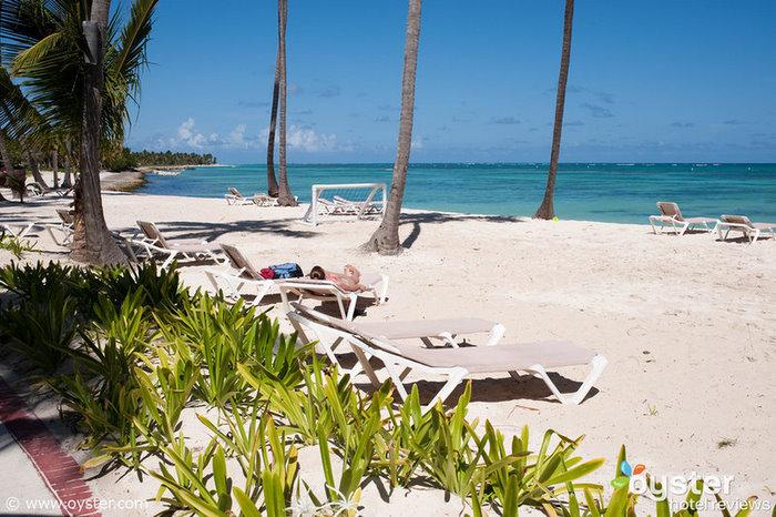 La playa del Hotel Punta Cana