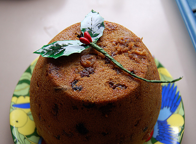 Christmas pudding, Photo bysimone-walsh via Flickr