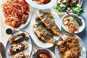 Feast of the Seven Fishes, Photo via Saveur