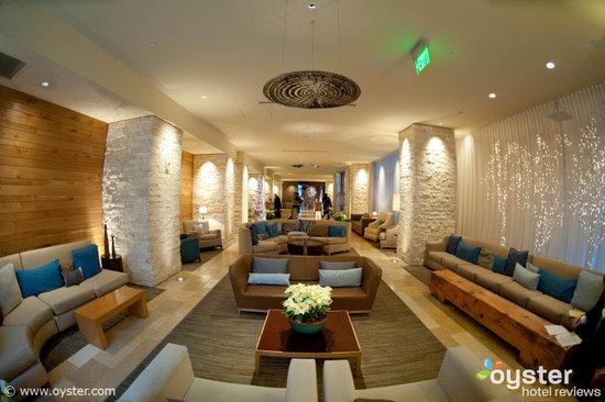 Lobby at Hotel Vitale, San Francisco