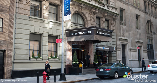 If you book on Oyster, you can snag a room at the Hotel Chandler for 15% less than the standard room rate.