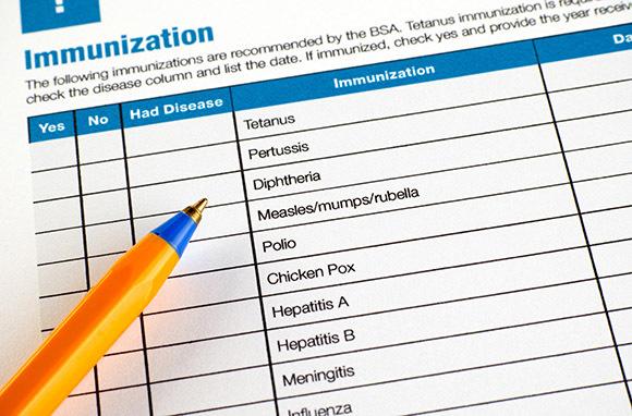 Photo:Immunization Formvia Shutterstock