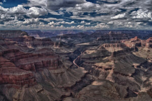 The Colorado River from the South Rim of the Grand Canyon (Photo courtesyTodd Shoemake)