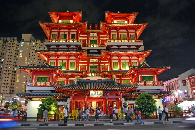 Buddha Tooth Relic Temple and Museum photo courtesy Ryan Custodio.