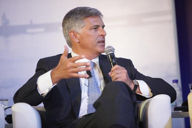 Hilton CEO Christopher J. Nassetta; Photo Credit: World Travel & Tourism Council