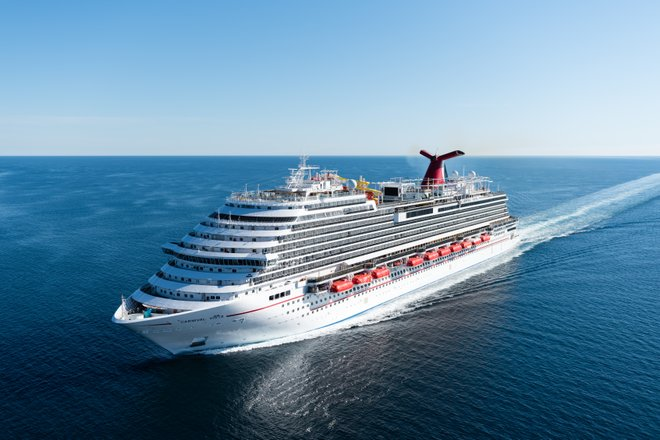 The Carnival Vista; Photo via Carnival