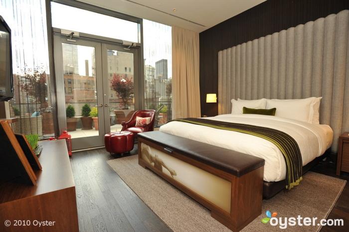 Veranda One-Bedroom Suite at the Eventi Hotel