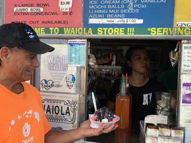 Waiola Shave Ice in Honolulu; Credit: Nalea J. Ko