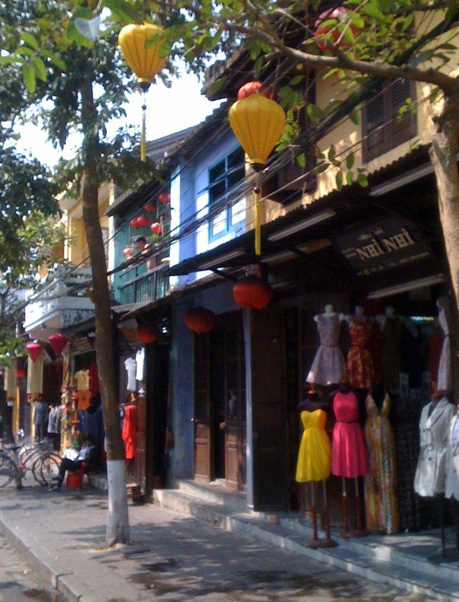 Schneidereien in Hoi An.