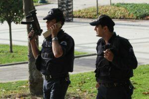 Police officers in Istanbul; Flickr/Niels van Reijmersdal